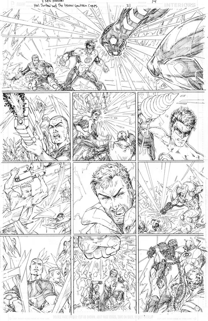 Hal Jordan and the Green Lantern Corps #21 page 14 by vmarion07