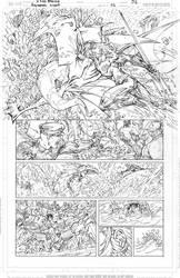 Aquaman GiANT #3 Page 6 PENCILS