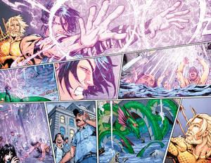 Aquaman GiANT #3 Page 12-13 COLOR