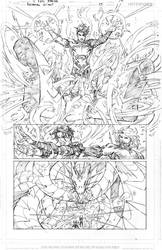 Aquaman GiANT #3 Page 14 PENCILS