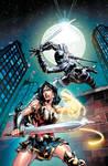 Wonder Woman #83 cover COLOR