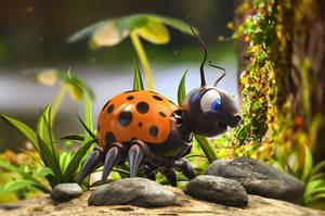 Violett's  Lady Bug by Palantion