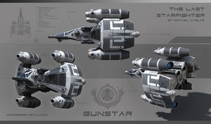 Gunstar The Last Star Fighter by Palantion