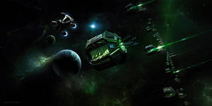 The Last Star Fighter Defending Rylos