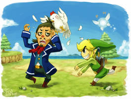Counterattack of Link by Sii-SEN