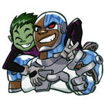 Cyborg and BB