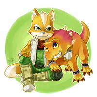 Fox and Tricky by Sii-SEN