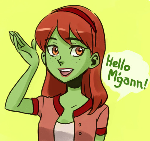 MISS MARTIAN by Sii-SEN