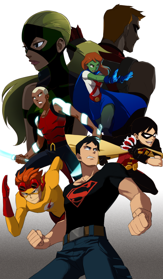 Young Justice Logo Young Justice by Sii Sen