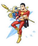 Captain Marvel and Stargirl