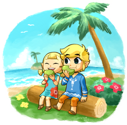 Link and Aryll
