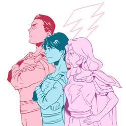Marvel family by Sii-SEN