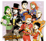 Halloween party on Team year one