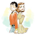 Billy and Mary