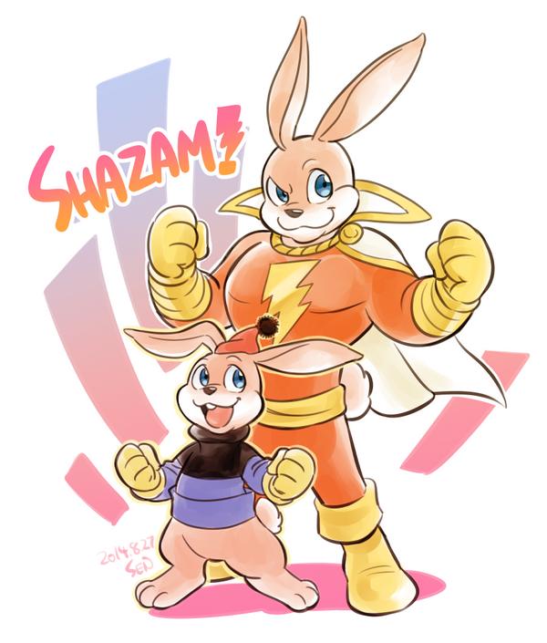 Hoppy the Marvel Bunny by Sii-SEN