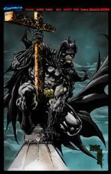BATMAN by Art-Of-Malacai-Brown