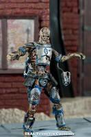 Zombie Mandolorian 5 by TheProsFromDover
