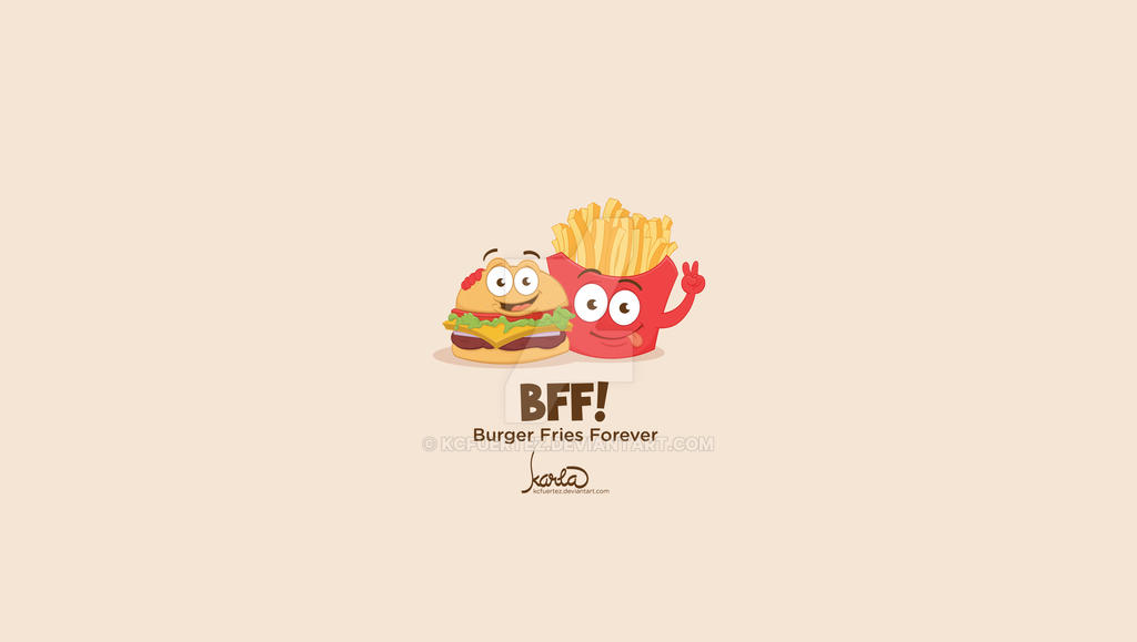 BFF Wallpaper by KCFuertez