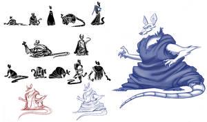 Goblin Market: Tlacuache Character exploration