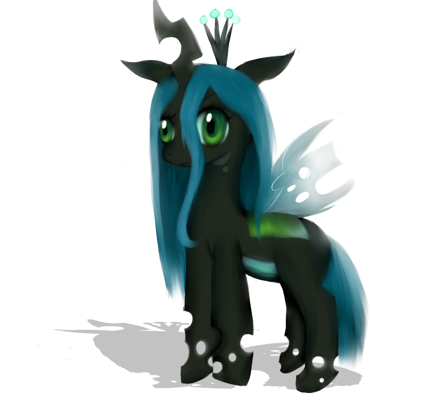 Queen Chrysalis Filly