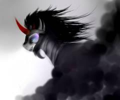 MLP FIM Season three villain- King Sombra by pipomanager-mimmi