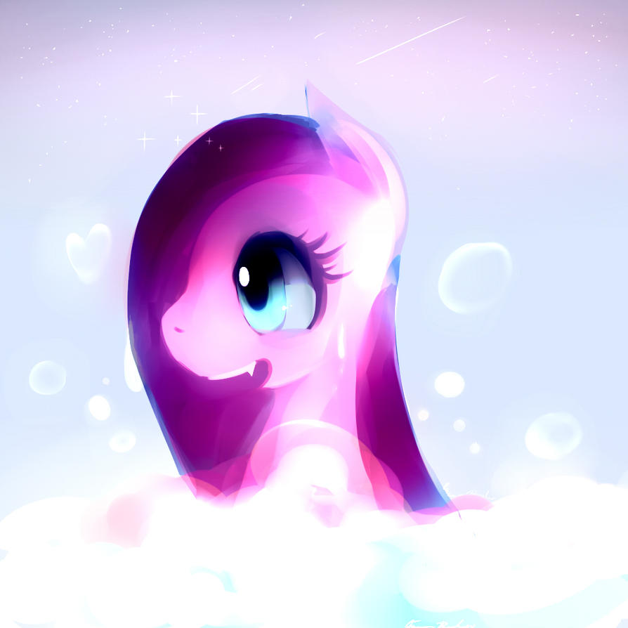 Pinkie Bath by pipomanager-mimmi