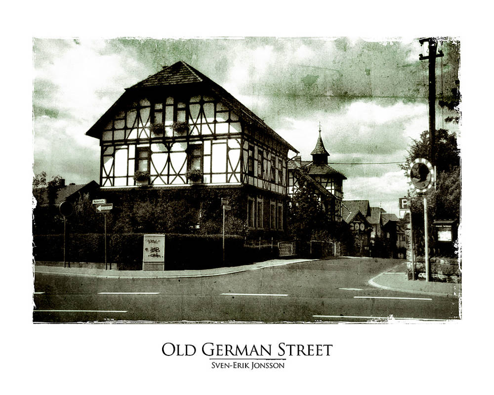 Old german street