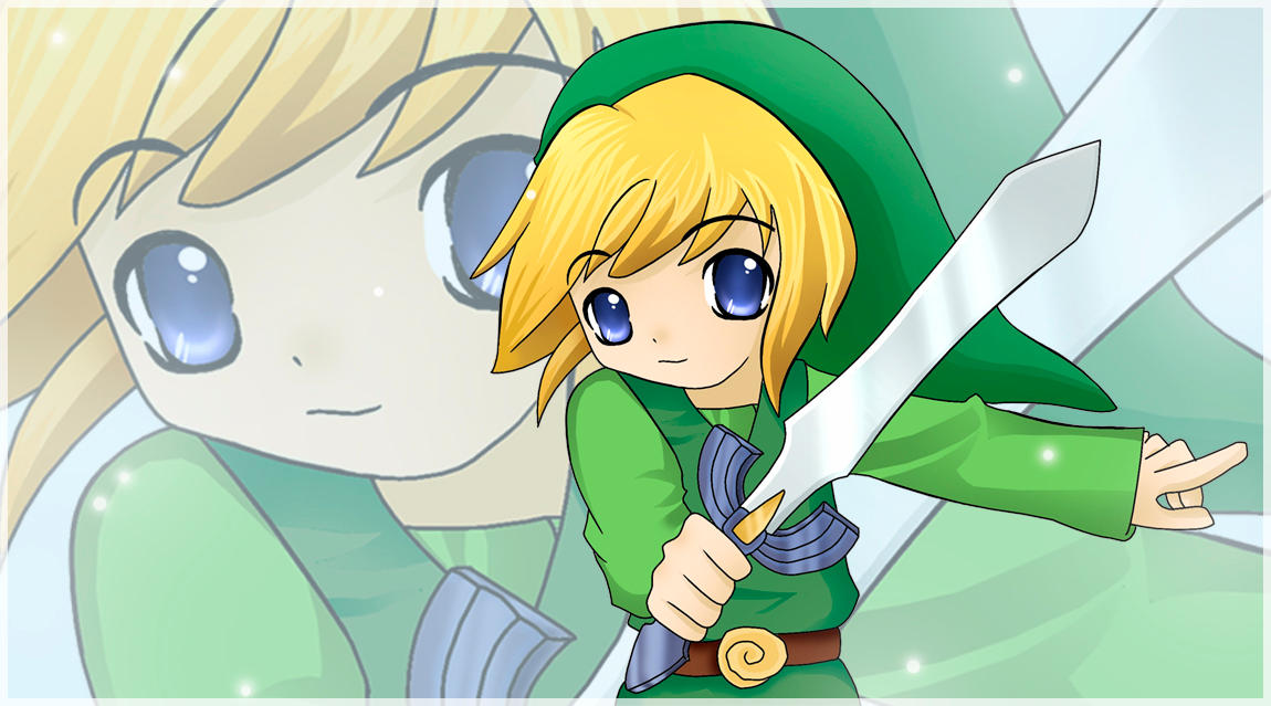 LoZ: The Windwaker - Link by InusLuv