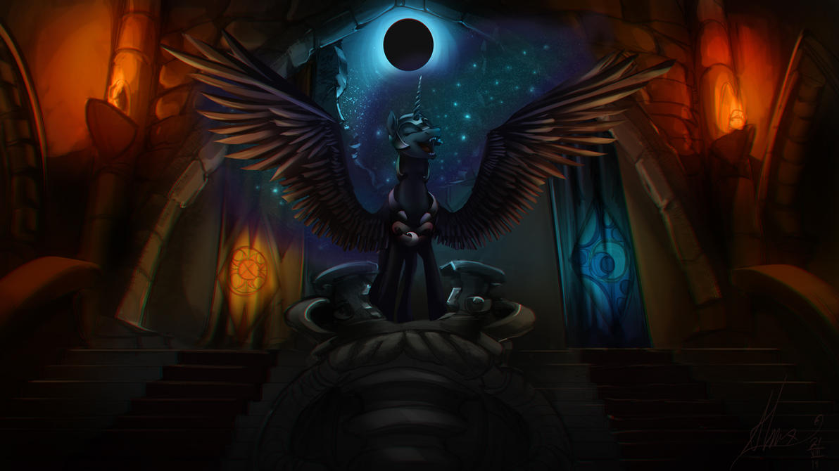 Episode 1 - Nightmare Moon's return by Alumx