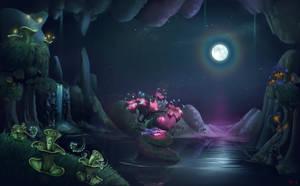 Where the Night dreams by Alumx