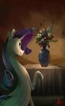 Rare vase of flowers