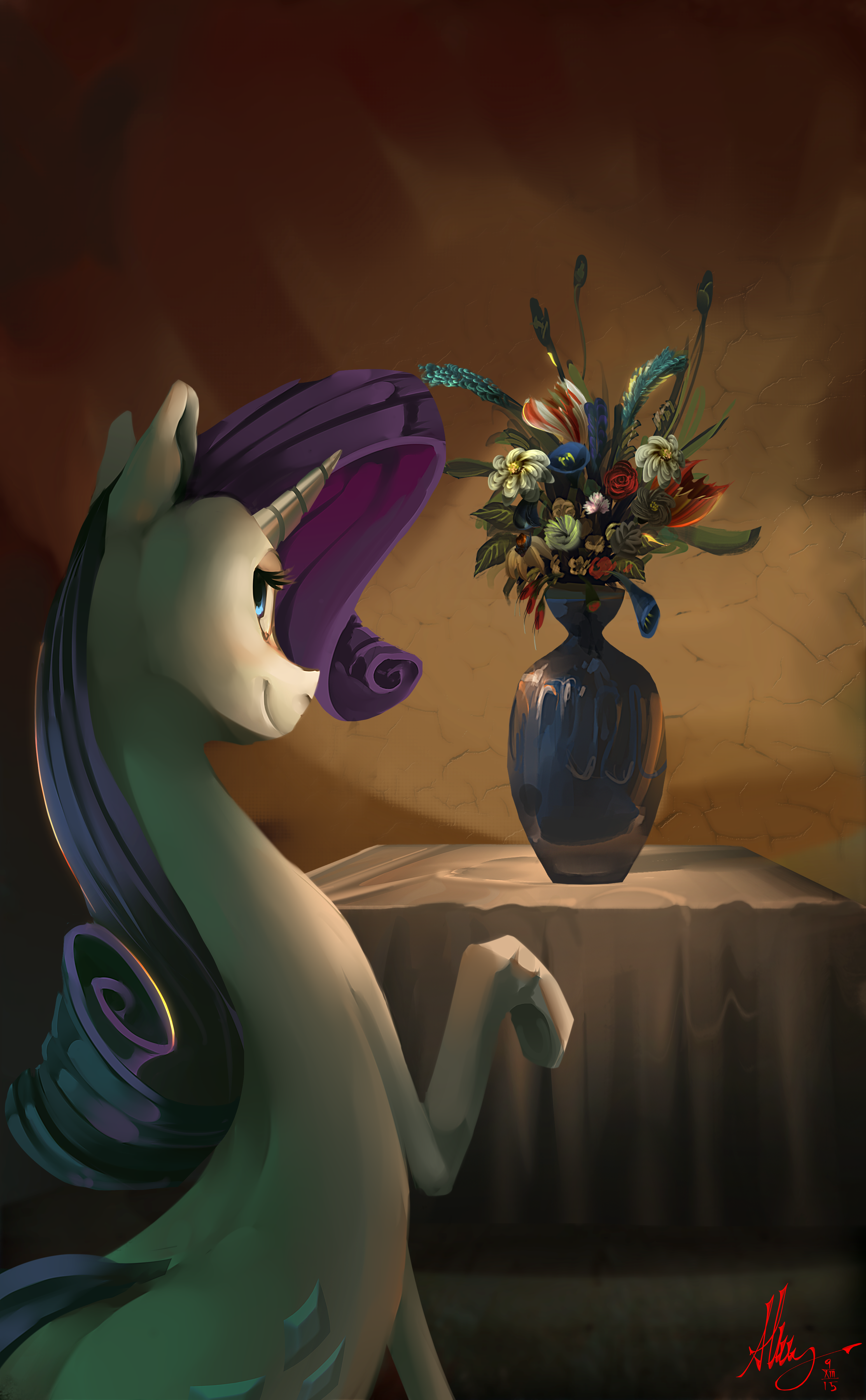 Rare Vase Of Flowers By Alumx On DeviantArt