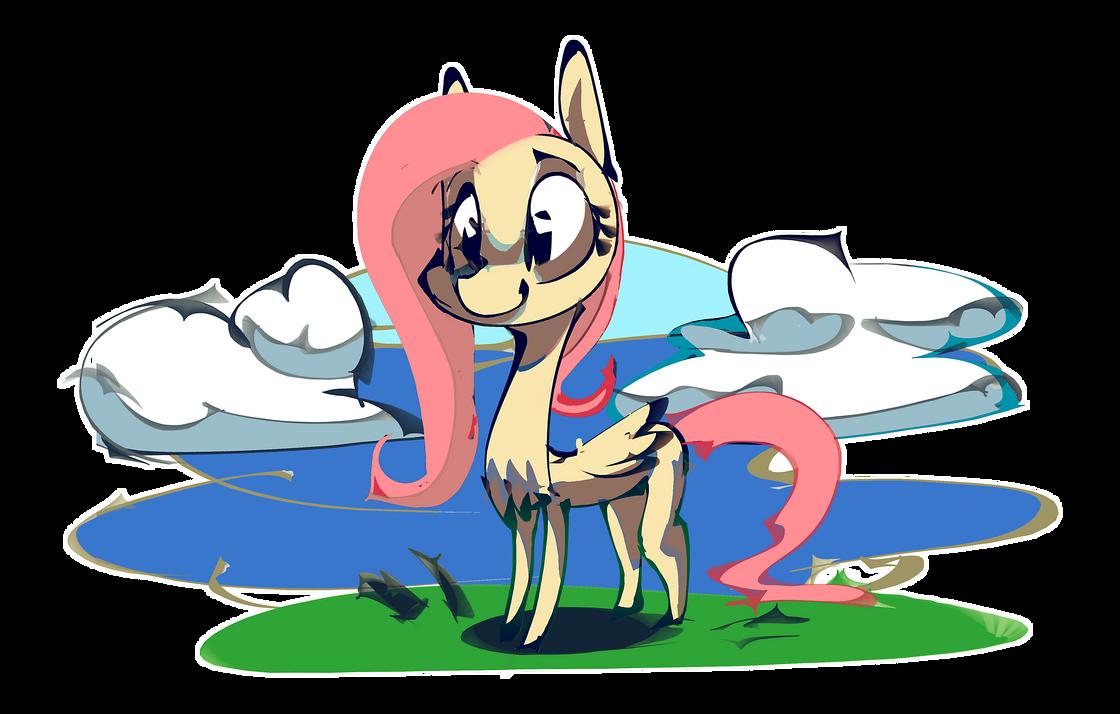 Yellow pony by Alumx