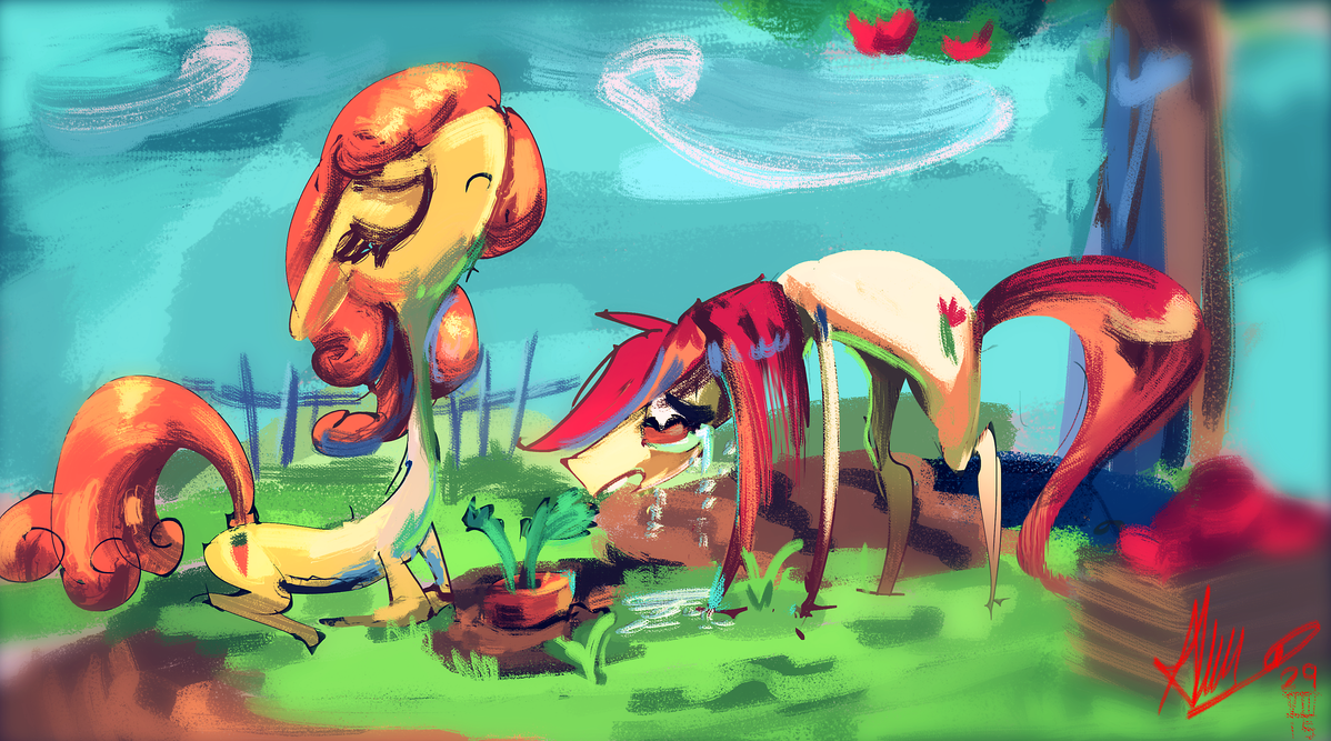 Can I eat that carrot? No. by Alumx
