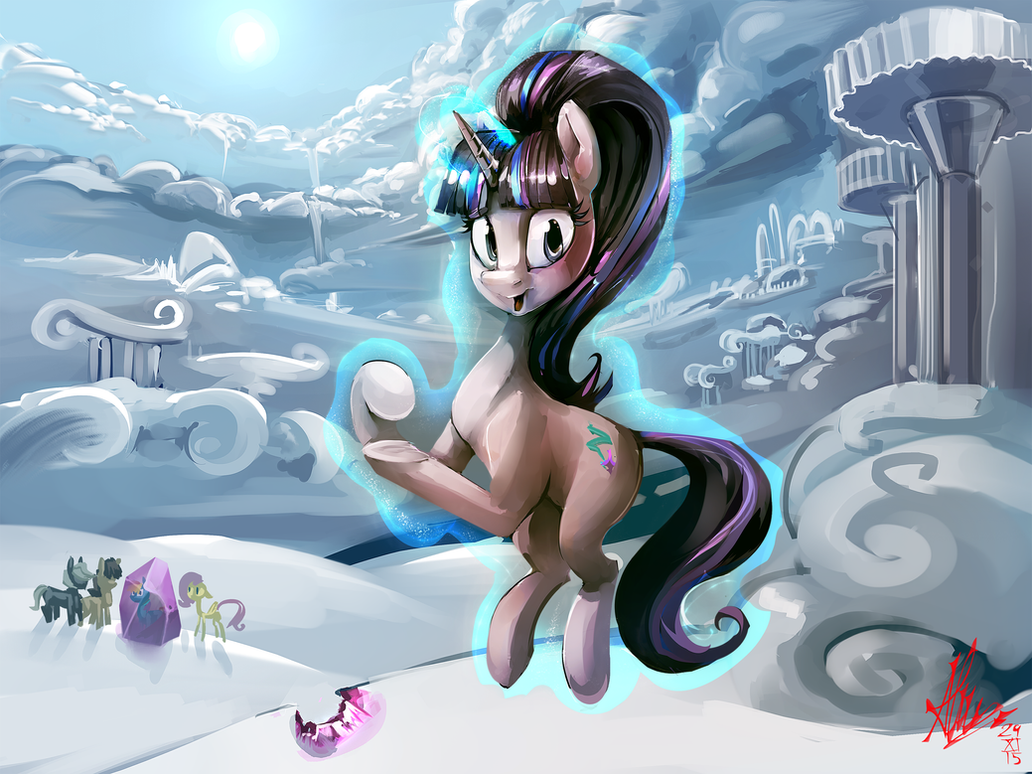 Oh, great job princess of Friendship... by Alumx