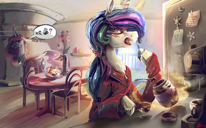 Morning routine by Alumx