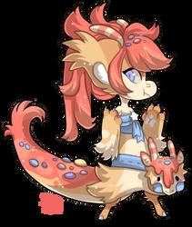 1005 - Candy dragon by TheKingdomOfGriffia