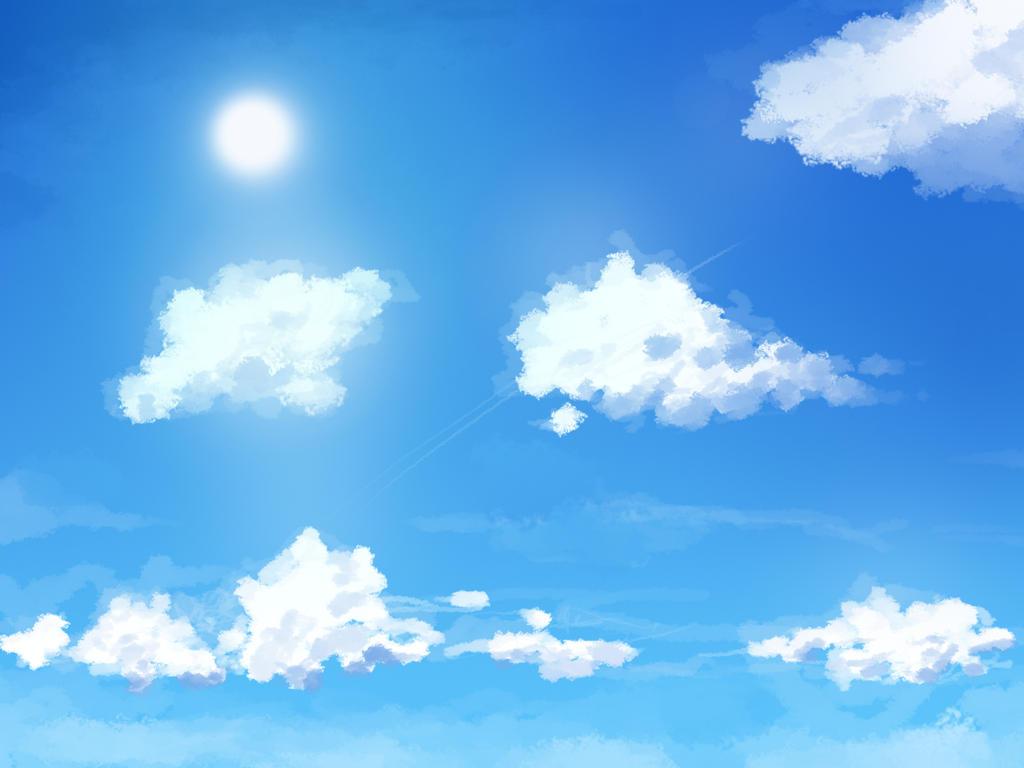 Anime sky by hyond on deviantart - Anime sky background ...