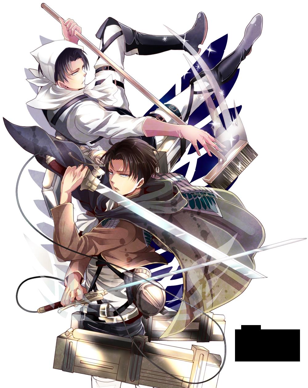 Render Rivaille - Shingeki no Kyojin by Shiwoo28