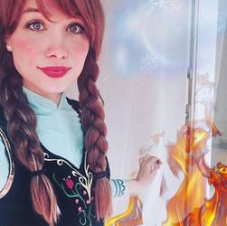 Frozen Anna by Sarina-Rose