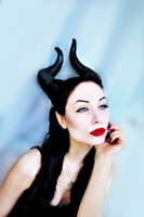 Maleficent by Sarina Rose