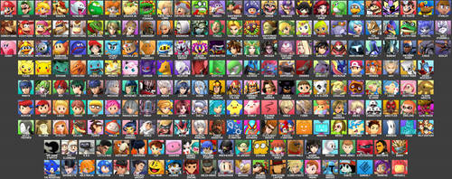 216 Character Smash Bros. Roster
