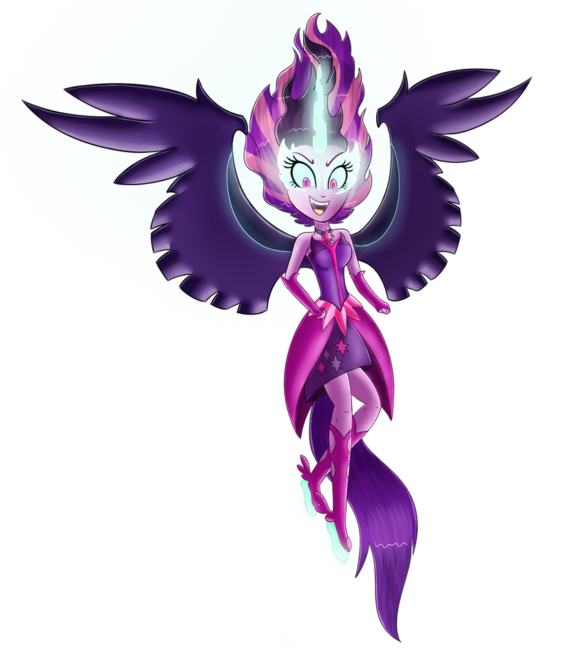 Midnight Sparkle Transparent~ by MLP-Firefox5013