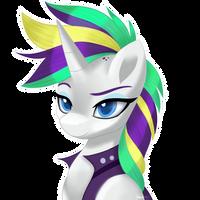 Punk hair Rarity by MLP-Firefox5013