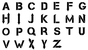 Hollywood Undead - Font by jaz350z
