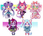 :OPEN ADOPTS: by Hika-LizDoodless