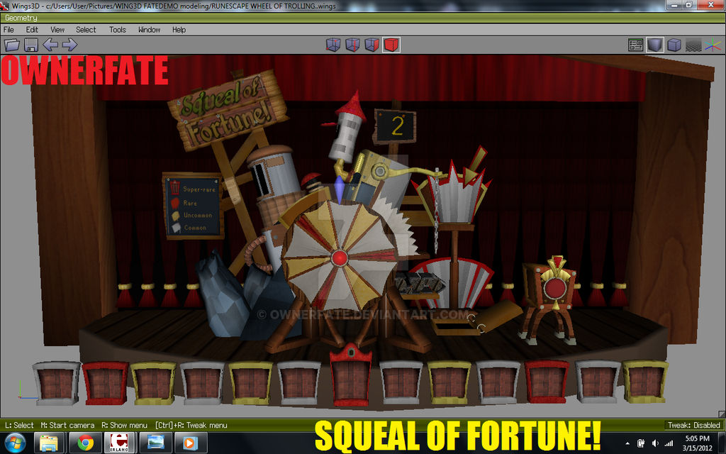 SQUEAL of FORTUNE in 3D
