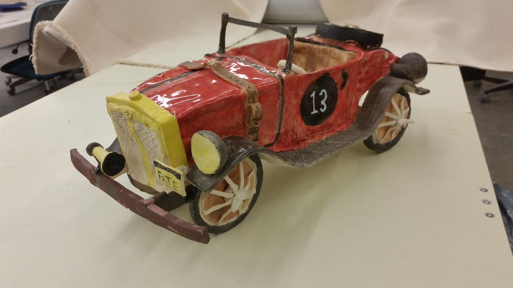 ceramic project ( my race car ) finished 1 by ownerfate
