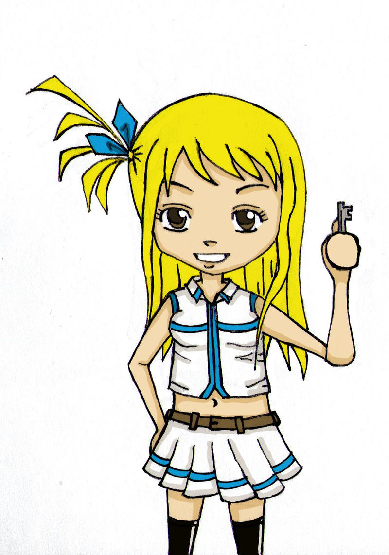 Chibi lucy fairy tail by Thartharus on DeviantArt