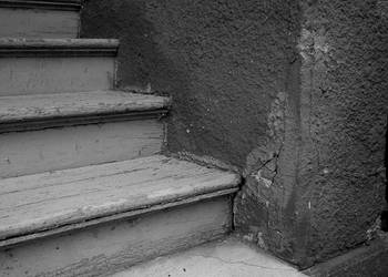 Painted Stairs. by MrWednesday